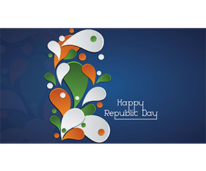 Happy Republic Day Greetings Card