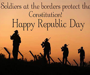 Happy Republic day Message for Soldier